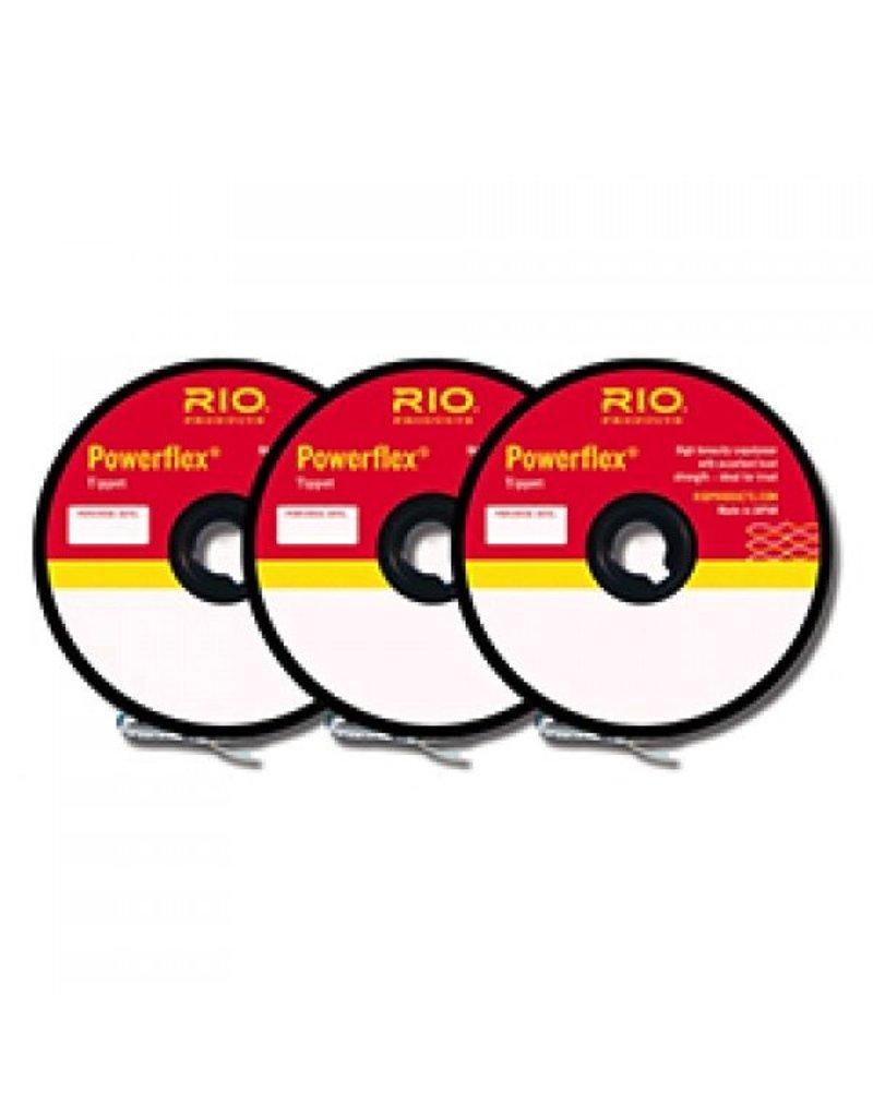 Rio Powerflex Tippet 3 Pack..<br /> 4X-6X