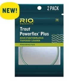 Rio Powerflex Plus Leader…..2 Pack
