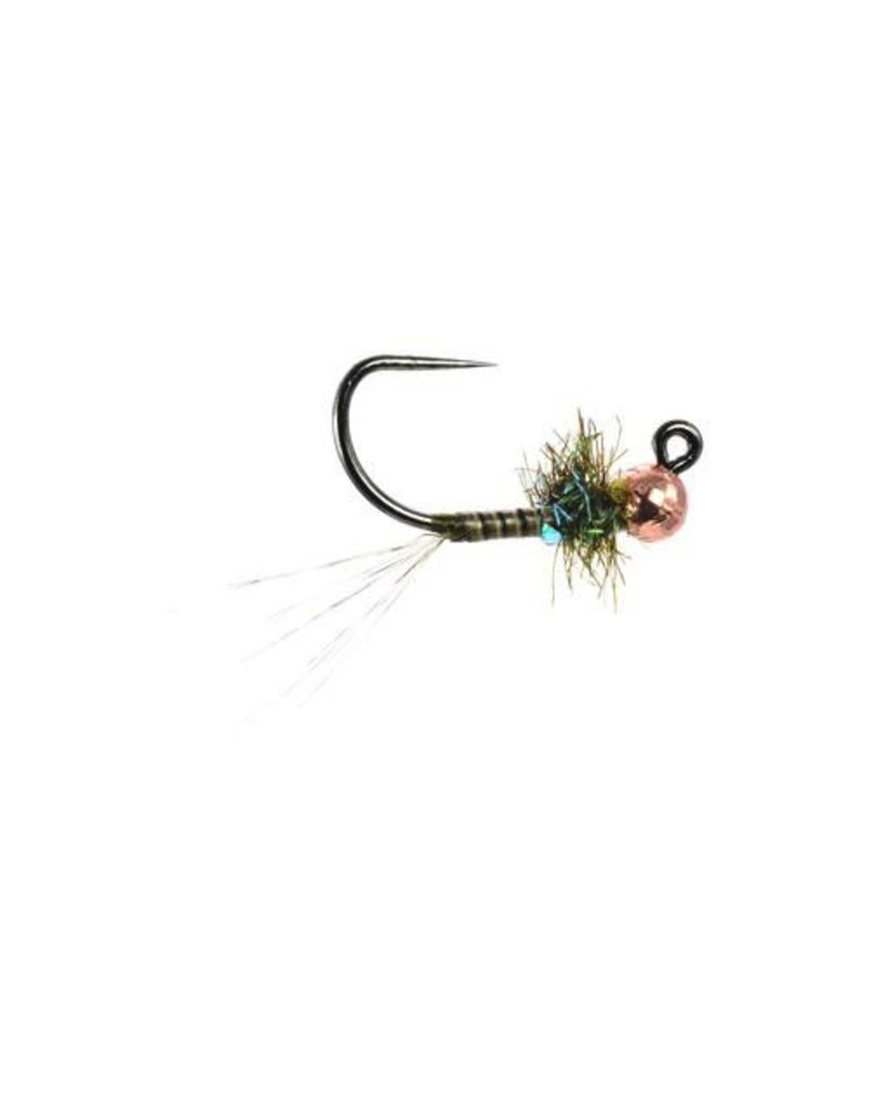 Jigged Sweet Pea Olive Nymph (3 Pack)