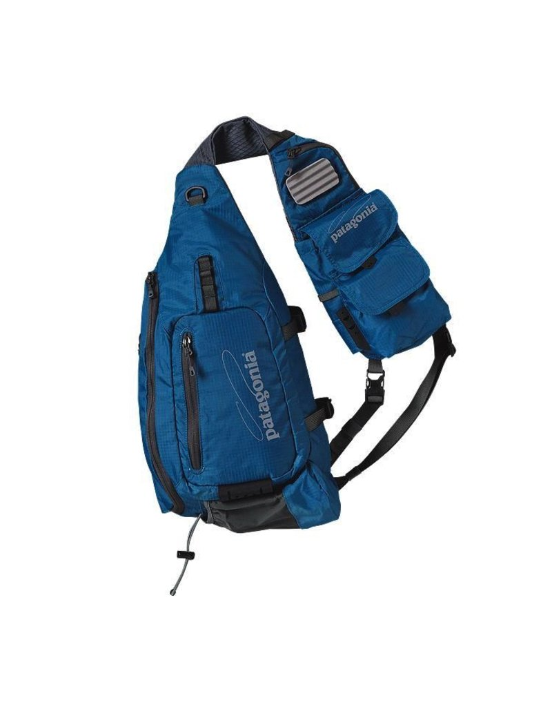 Patagonia fly Fishing Vest Front Sling Underwater Blue
