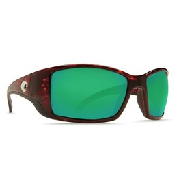 Costa Blackfin 580P Tortise Green Mirror