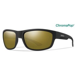 Smith Dover Matte Black Polarized Bronze Mirror ChromaPop