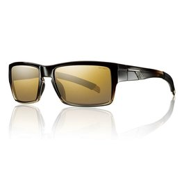 Smith Outlier Black Olive Fade Polarized Gold Gradient Mirror