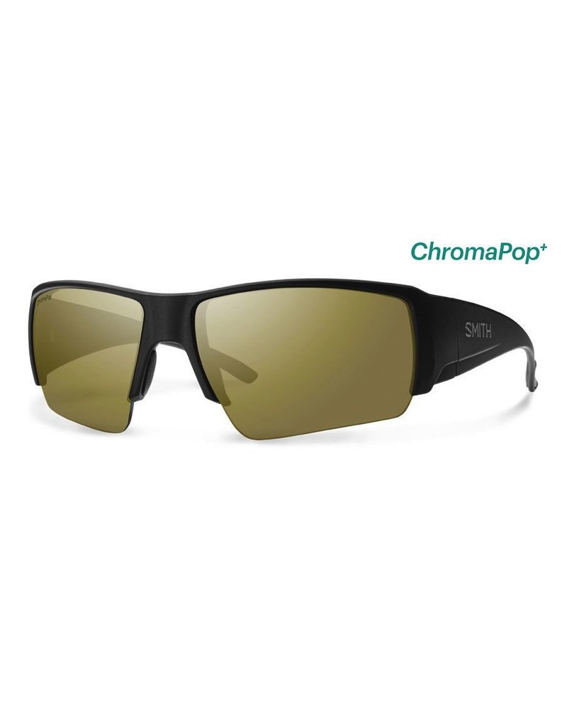 Smith Captain's Choice Matte Black Polarized Bronze Mirror