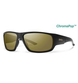Smith Discord Matte Black Polarized Bronze Mirror ChromaPop