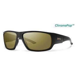 Smith Discord Matte Black Polarized Bronze Mirror ChromaPop