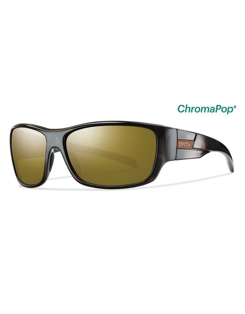 Smith Frontman Tortoise Polarized Bronze Mirror ChromaPop