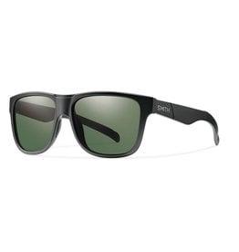 Smith Lowdown XL Matte Black Polarized Gray Green
