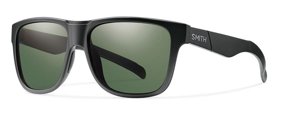 cbf9676d54 Smith Lowdown XL Matte Black Polarized Gray Green - Royal Gorge Anglers