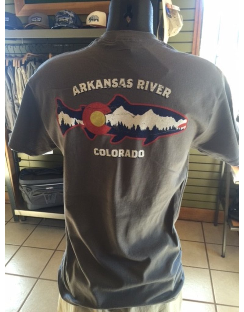 EST90 Colorado Trout and Mountains SS Tee