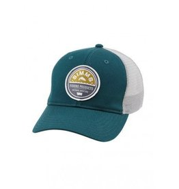 Simms Patch Trucker Cap Vintage Trout Juniper