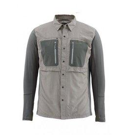 Simms GT Tricomp LS Shirt Platinum