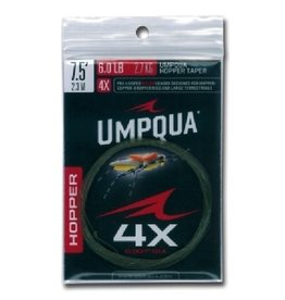 Umpqua Hopper Tapered Leader 7 1/2 ft 4X