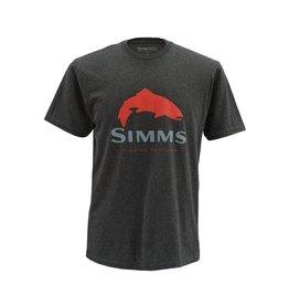 Simms Trout Logo SS T