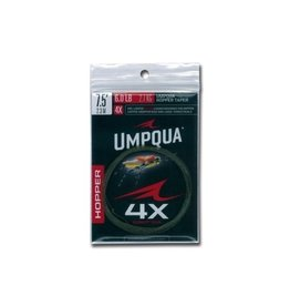 Umpqua Hopper Tapered Leader 7-1/2ft 4X (3 Pack)