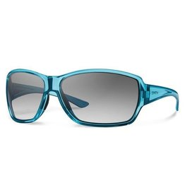 Smith Pace Crystal Opal Carbonic with Gray Gradient Lenses