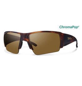 Smith Captain's Choice ChromaPop Polarized Brown in Matte Havana