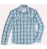 Howler Gaucho Snapshirt Drifter Plaid Chesapeake Blue