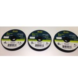 Rio Powerflex Plus Tippet 3 Pack, 4X, 5X, 6X
