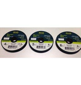 Rio Powerflex Plus Tippet 3 Pack, 4X, 5X, 6X