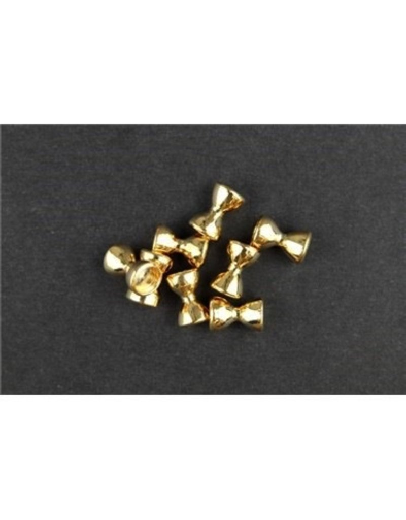 Brass Dumbell Eyes (Small)