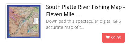 South Platte River Map