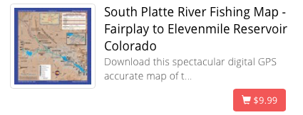 South Platte Rive Map