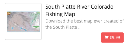 South Platte River Digital Map