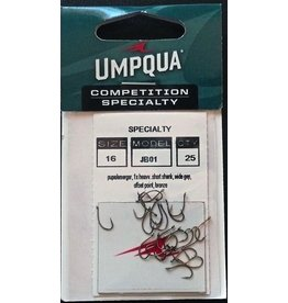 Umpqua TMC JB01 Competition Hook, 25 pk