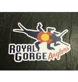 Royal Gorge Anglers Colorado StoneBug Sticker