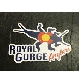 Royal Gorge Anglers CO StoneBug Sticker