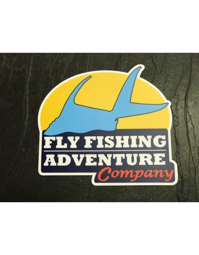 Fly Fishing Adventure Co. Sticker