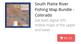 South Platte River Map (Bundle)