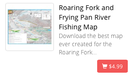 Roaring Fork and Frying Pan River Map
