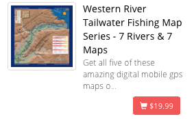 Western Rivers Map Bundle