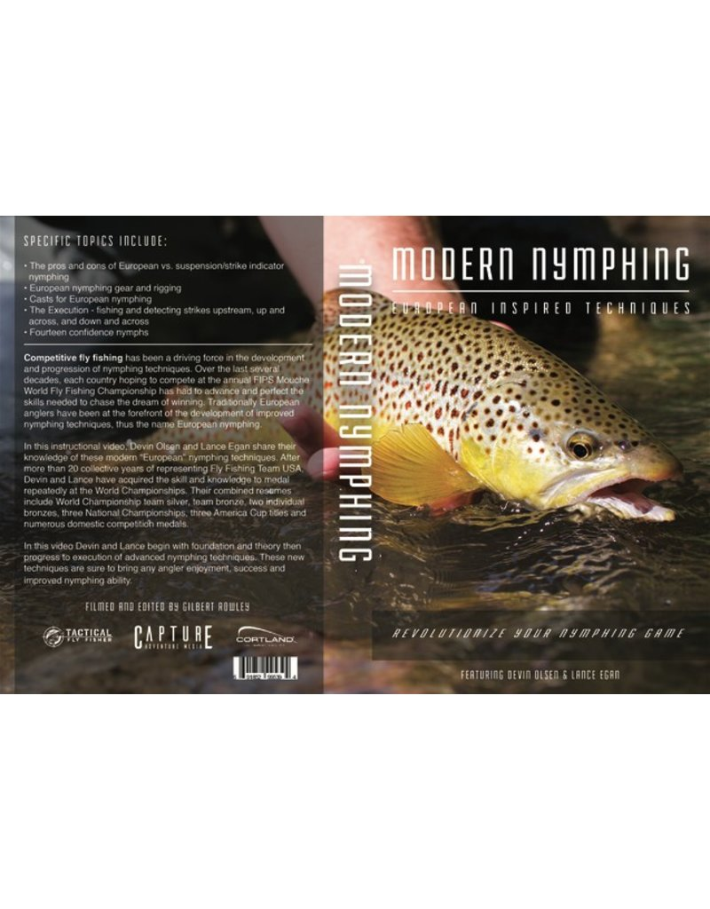 Modern Nymphing: European Inspired Nymphing Techniques (Featuring Fly Fishing Team USA's Devin Olsen & Lance Egan)