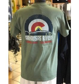 Royal Gorge Anglers Colorado Trout Flag Tee