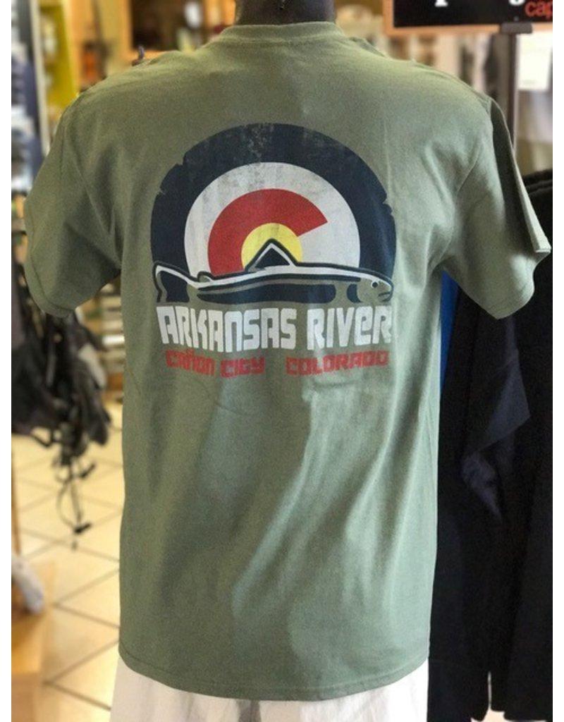 ALL NEW Colorado Trout Flag Logo T-Shirt!