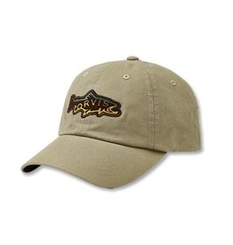 Orvis Hook Jaw Trout Ballcap Khaki