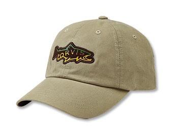 Orvis Hook Jaw Trout Ballcap Khaki