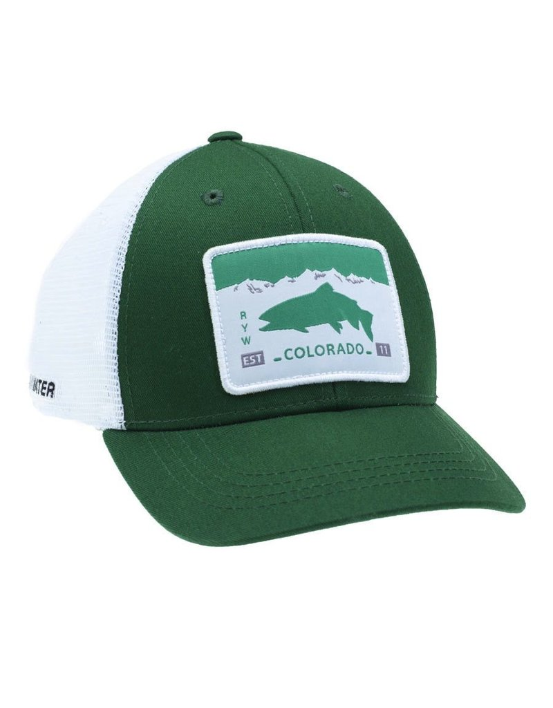 Rep Your Water Colorado License Plate Trucker