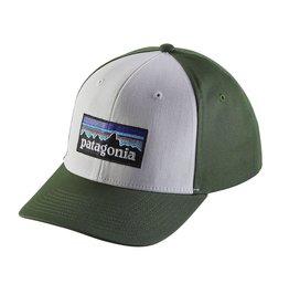 Patagonia P-6 Roger That Hat White/Green