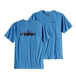Patagonia Men's Fitz Roy Trout Cotton T Shirt