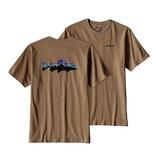 Patagonia Men's Fitz Roy Trout Cotton T Shirt