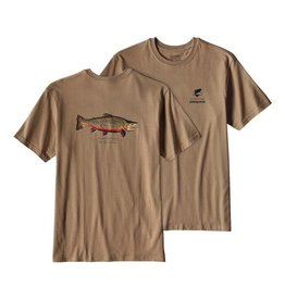 Patagonia Men's World Trout Rio Tigre Cotten T Shirt