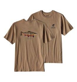 Patagonia Men's World Trout Rio Tigre Cotton T Shirt