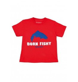 SIMMS Kids Born Fishy Trout Tee