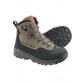 RUGGED NUBUCK-LEATHER WADING BOOT WITH ENHANCED TRACTION