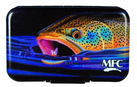 MFC Fly Box Poly Maddox's Brown Snack