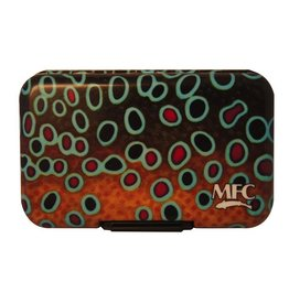MFC Fly Box Poly Maddox's Brown Trout Skin